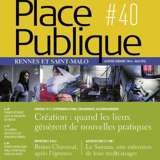 Place Publique #40 – « Initiatives urbaines »