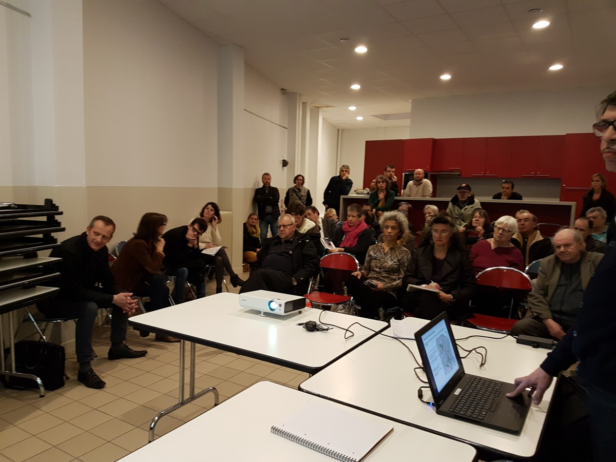 Concertation au foyer rennais